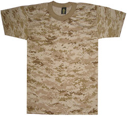 4033 - Digital Desert Camouflage T-Shirt